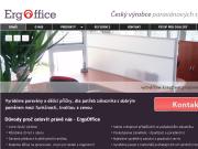 WEBOVÁ STRÁNKA Tomáš KYSELA - ErgoOffice, český výrobce paravánů