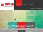 WEBOVÁ STRÁNKA TOMADOS s.r.o. Pronájem multifunkčních zařízení Praha