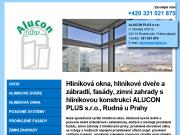 WEBOVÁ STRÁNKA ALUCON PLUS s.r.o.