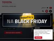 WEBOVÁ STRÁNKA Toyota Material Handling CZ s.r.o. Manipulační skladová technika Praha