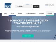 WEBOVÁ STRÁNKA Technický a zkušební ústav stavební Praha, s.p. - odštěpný závod ZÚLP České Budějovice