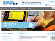 WEBOVÁ STRÁNKA PAPco, s.r.o. Nedestruktivní testování Praha