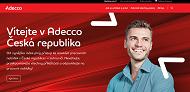 WEBOVÁ STRÁNKA ADECCO spol.s r.o.