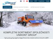 WEBOVÁ STRÁNKA Unikont Group s.r.o.