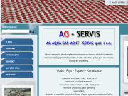 WEBOVÁ STRÁNKA AG AQUA GAS MONT-SERVIS, spol. s r.o. Instalatérské práce Praha