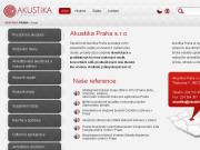 WEBOVÁ STRÁNKA Akustika Praha s.r.o.