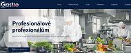 WEBOVÁ STRÁNKA GASTROART CZ, spol. s r.o. Gastro vybavení - zařízení prodej Praha