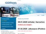 WEBOVÁ STRÁNKA COMVIA BUS, s.r.o.