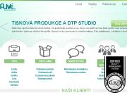 WEBOVÁ STRÁNKA ALIVE, s.r.o. Reklamní agentura