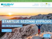 WEBOVÁ STRÁNKA HUSKY CZ s.r.o. outdoorové vybavení