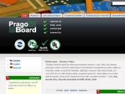 WEBOVÁ STRÁNKA PragoBoard s.r.o. výroba plošných spojů