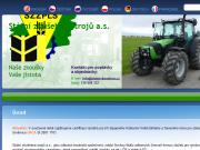 WEBOVÁ STRÁNKA Státní zkušebna zemědělských, potravinářských a lesnických strojů akciová společnost