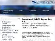 WEBOVÁ STRÁNKA VYDOS BOHEMIA, s.r.o. Digitální polygrafické stroje Praha