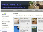 WEBOVÁ STRÁNKA EFEKT - CARPET, s.r.o.