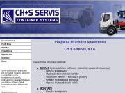 WEBOVÁ STRÁNKA CH + S SERVIS, s.r.o. Servis hydraulických zařízení Praha