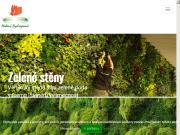 SITO WEB Matous Hydroponie s.r.o. Zelena stena, vertikalni zahrada