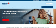 WEBOVÁ STRÁNKA Česká spořitelna - penzijní společnost, a.s. Penzijní připojištění Praha