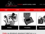 WEBOVÁ STRÁNKA SafeCom s.r.o. Odposlechy, detektory, bezpečnost, Praha