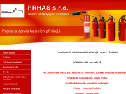 SITO WEB PRHAS s.r.o.