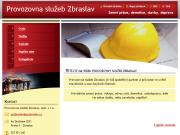 WEBOVÁ STRÁNKA PROVOZOVNA SLU�EB ZBRASLAV spol. s r.o.