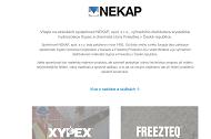 WEBSITE NEKAP spol.s r.o. Hydroizolace staveb Praha