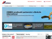 SITO WEB CEMEX Czech Republic, s.r.o.