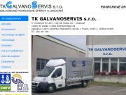 WEBOVÁ STRÁNKA TK GALVANOSERVIS s.r.o. Galvanické povrchové úpravy Praha