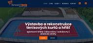 WEBOVÁ STRÁNKA Forward tenis Výstavba sportovišť a tenisových kurtů