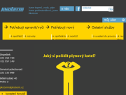 WEBOVÁ STRÁNKA Jikoterm, s.r.o. Plynařské a topenářské centrum Praha
