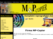 WEBOVÁ STRÁNKA MP COPIER Vladimír Mařík