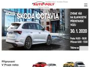 WEBOVÁ STRÁNKA Auto - Poly spol. s r.o. Autosalon Praha