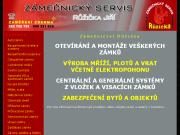 WEBOVÁ STRÁNKA Zámečnictví Praha 3 - Jiří Růžička Pohotovostní otevírání dveří