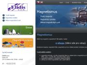 SITO WEB ELIDIS s.r.o. Magneticke materialy, mereni emisi Praha
