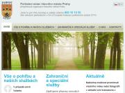WEBOVÁ STRÁNKA POHŘEBNÍ ÚSTAV hlavního města Prahy
