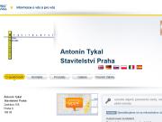 SITO WEB Antonin Tykal Stavitelstvi Praha