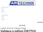 WEBOVÁ STRÁNKA Airtechnik - Ing. Karel Doušek, CSc. Měření a validace čistých prostor Praha