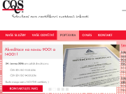 SITO WEB CQS - Sdruzeni pro certifikaci systemu jakosti