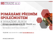 Strona (witryna) internetowa H.S.TRADE a.s. Ochrana dokumentu, hologramy