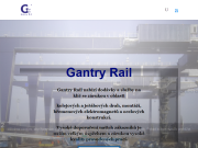 WEBOVÁ STRÁNKA Gantry Rail s.r.o. Jeřábové dráhy, kolejnice