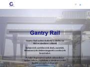 WEBSITE Gantry Rail s.r.o. Jerabove drahy, kolejnice