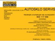 WEBOVÁ STRÁNKA AUTOSKLO SERVIS CZ, s.r.o. Praha 8