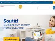 WEBOVÁ STRÁNKA PRAŽSKÁ PLYNÁRENSKÁ, a. s.