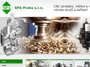 WEBOVÁ STRÁNKA SPA Praha s.r.o. Výroba prvků regulační techniky Praha