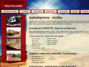 WEBOV� STR�NKA Autodoprava Petru��lek P�eprava kontejnery Avia Praha