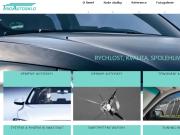 Strona (witryna) internetowa TRIOAUTOSKLO s.r.o. Vymena autoskel Brandys nad Labem