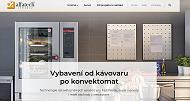 WEBOVÁ STRÁNKA ALFATECH s.r.o. Vybavení pro gastronomii Praha