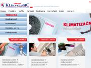 WEBOVÁ STRÁNKA KLIMA-CLASSIC spol. s r.o. Klimatizace Toshiba