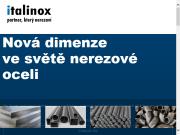 WEBOVÁ STRÁNKA ITALINOX, s r.o. Velkoobchod nerezová ocel