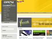 WEBOVÁ STRÁNKA CONTRA Praha, s.r.o. Distrubuce průmyslových řetězů Cheb