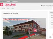 SITO WEB Obchodni a reklamni agentura Karel Subrt Praha potisk tricek